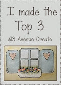 I made it into the Top 3 picks at 613 Avenue Create
