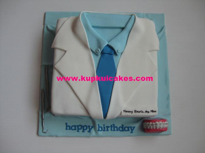 Kupkui Cakes Dentist Cake