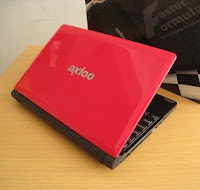 netbook axioo pico pjm merah