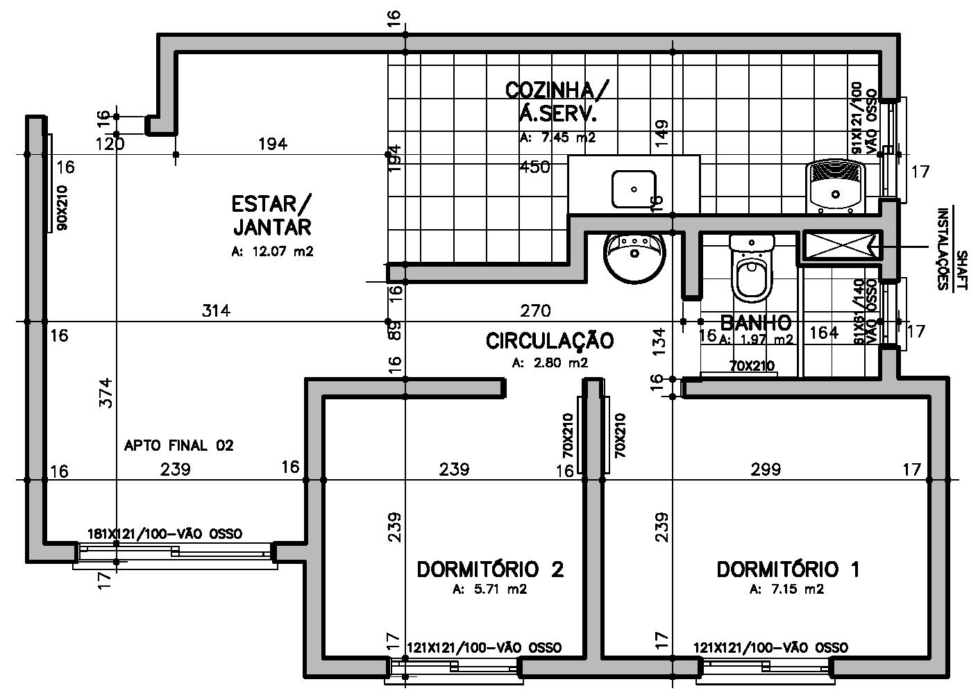 planta baixa com garagem planta baixa wallpaper #1F1F1F 1409x1008 Baixar Banheiro Para Autocad