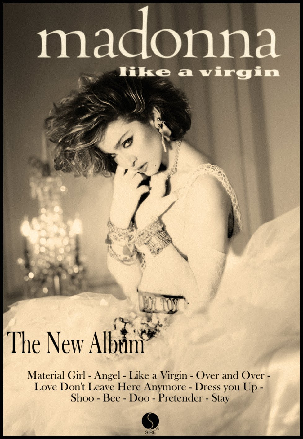 Madonna like a virgin official