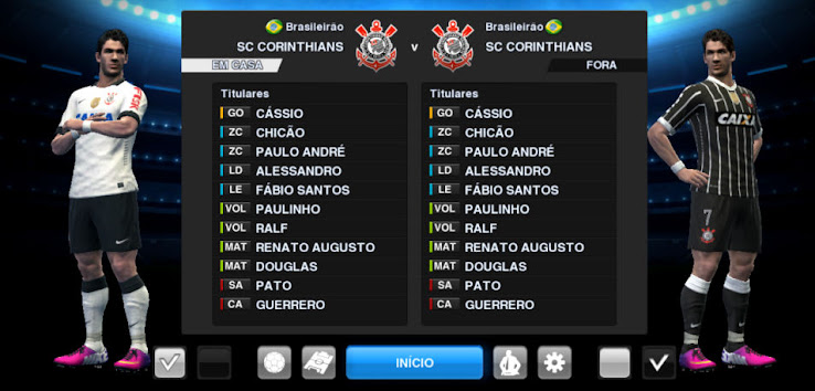 PES 2013 Corinthians 2013 Kit Set by Tasci   Update