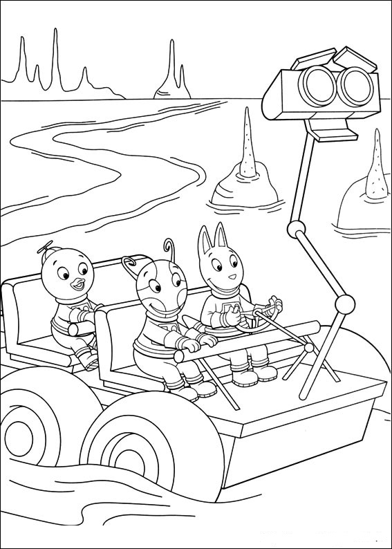 Fun Coloring Pages The Backyardigans