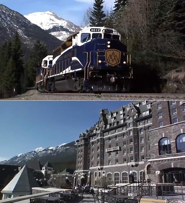 Roteiro Canadá - Trem Rocky Mountaineer - Roadmap Canada - Rocky Mountaineer Train