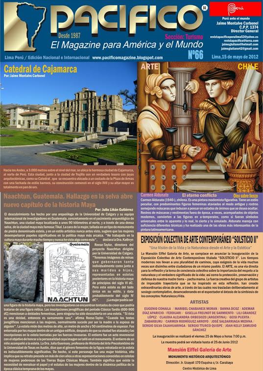 Revista Pacífico Nº 66 Turismo