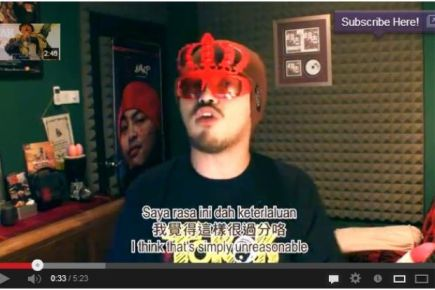 Video Namewee Hina Para Menteri