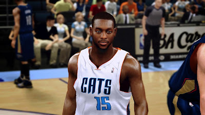 NBA 2K14 Kemba Walker Cyberface Mod