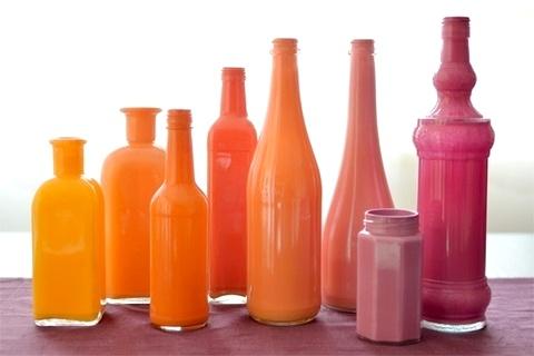 ... kerajinan tangan yang mudah , cara membuat vas dari botol bekas