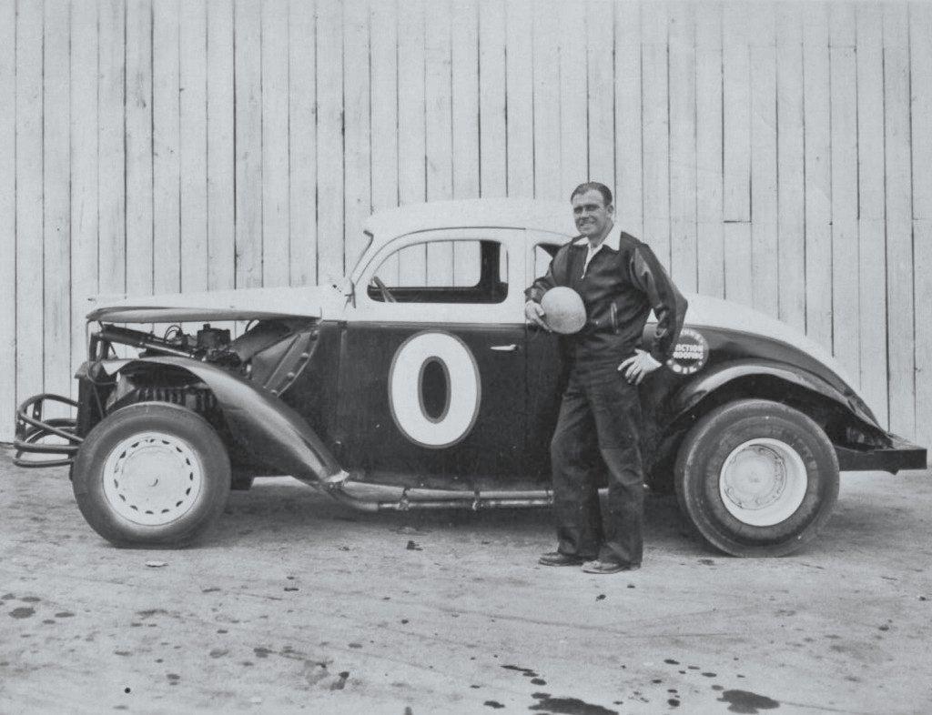 Northwest Auto Racing, 1950s: Logan Harter, Aurora Speedway