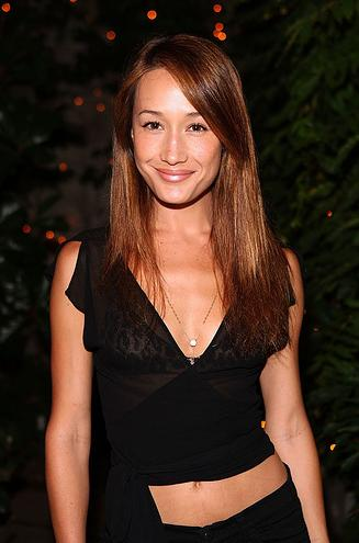 beautiful maggie q