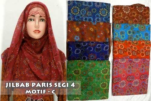 model jilbab terbaru segi empat harga grosir termurah