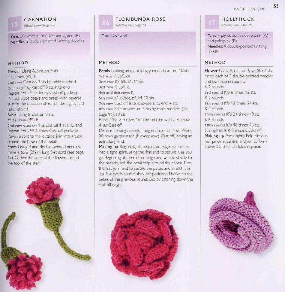 Вязания цветка крючком описание и