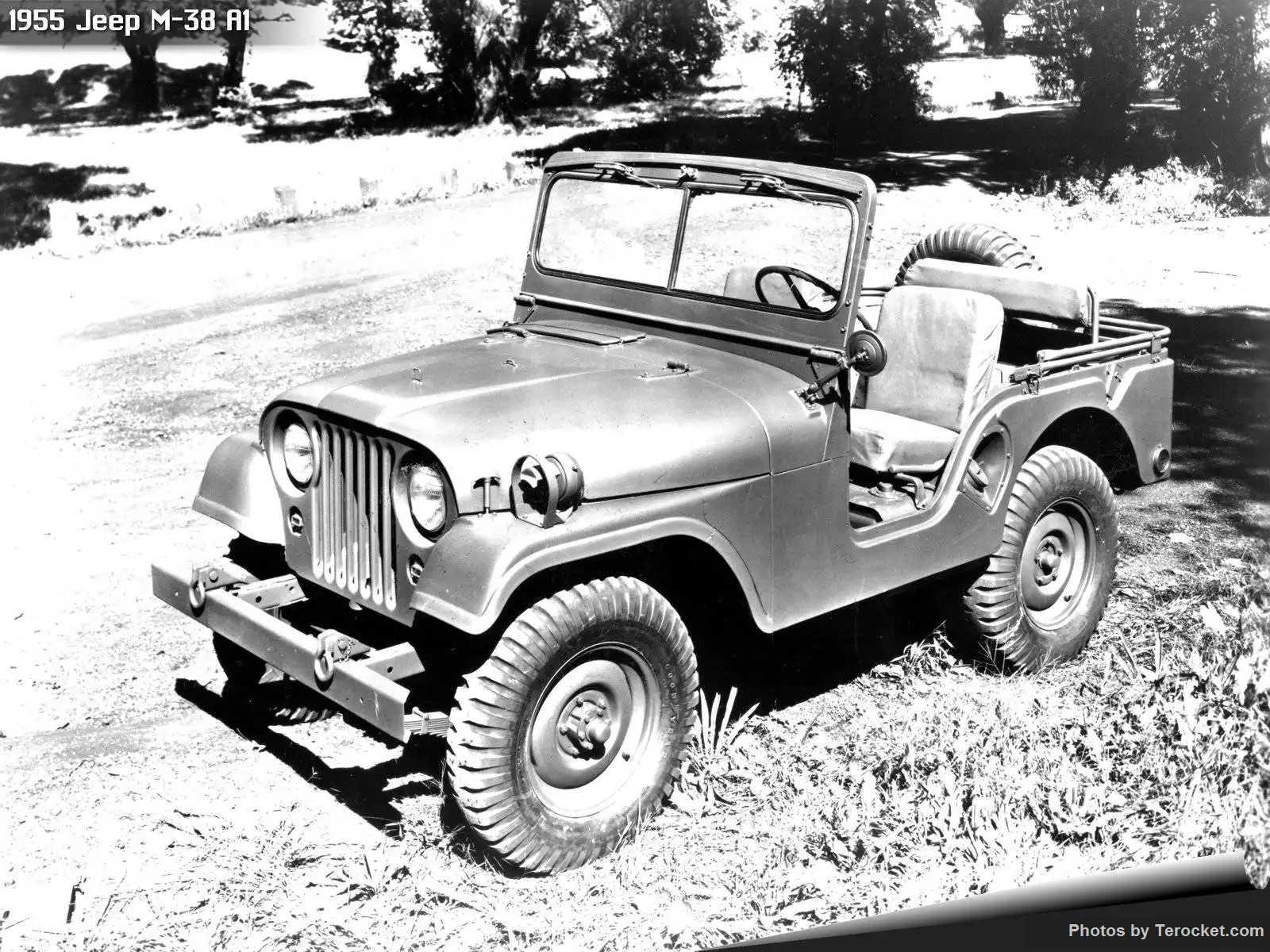Hình ảnh xe ô tô Jeep M-38 A1 1955 & nội ngoại thất