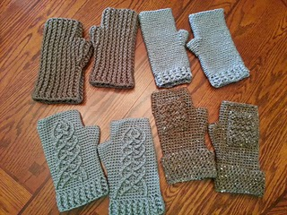 Crochet Hobbit Gloves