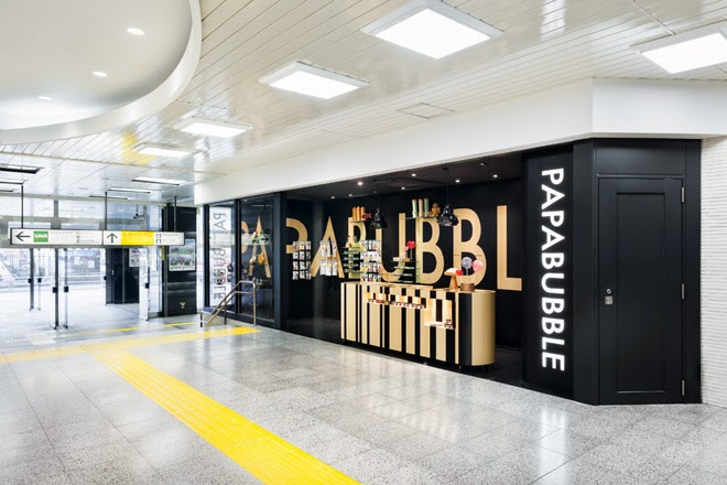Papabubble candy shop, Tokio, Torafu Architects