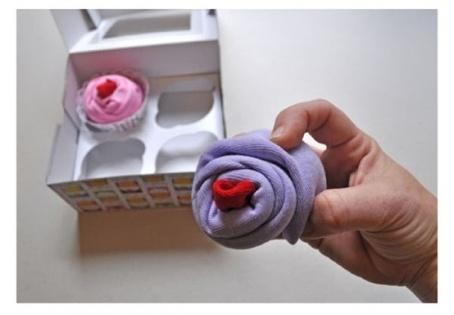 Cara Membuat Kerajinan Tangan Unik, Membuat Cupcake Bunga Untuk kado