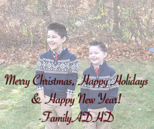 FamilyADHD family travel blog happy holidays