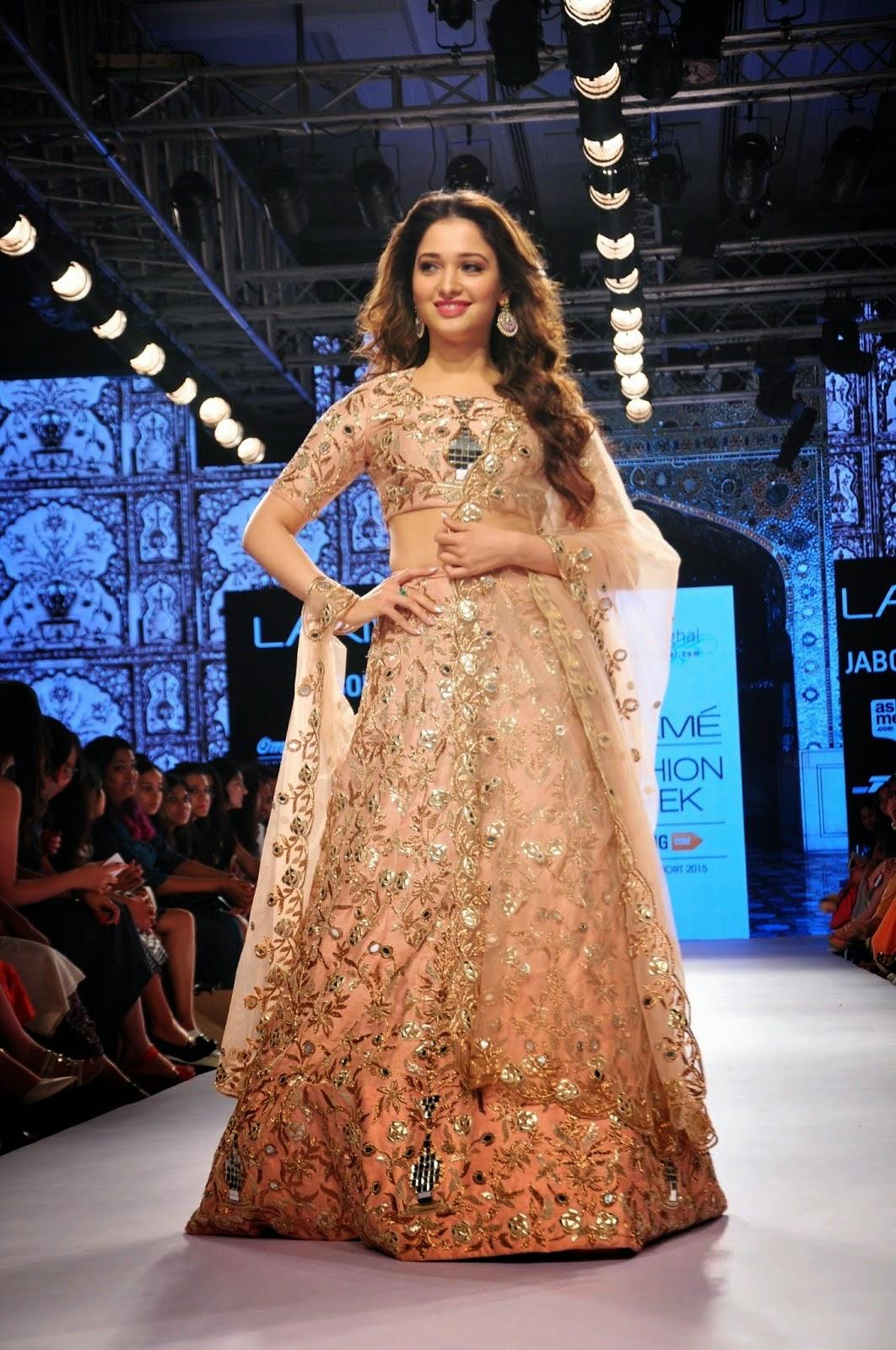 Tamanna Latest Photos At Lakme Fashion Week 2015 | Gallery