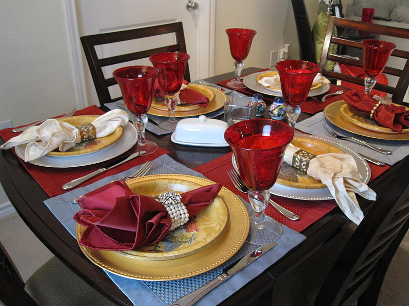 & The Apron Gal: Dinner Party Place Setting Tips