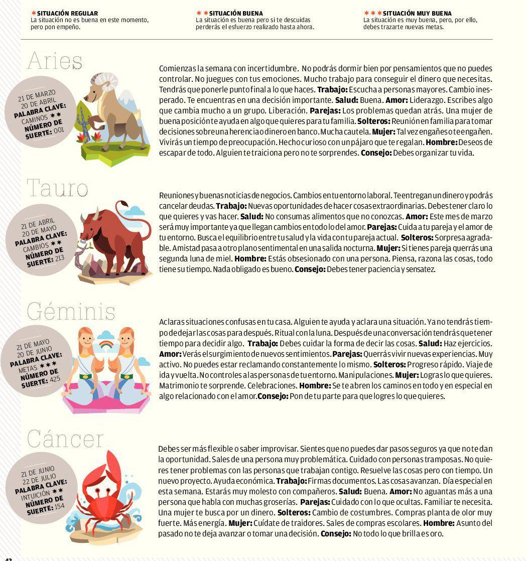 ... Tauro Horoscopo Geminis Horoscopo Cancer | New Style for 2016-2017