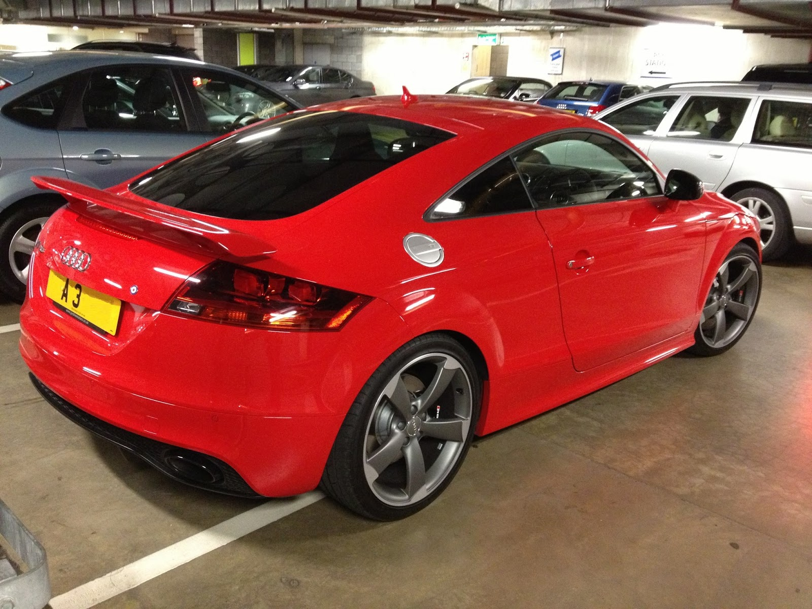 Dream Car Spotter Audi Tt Rs Red