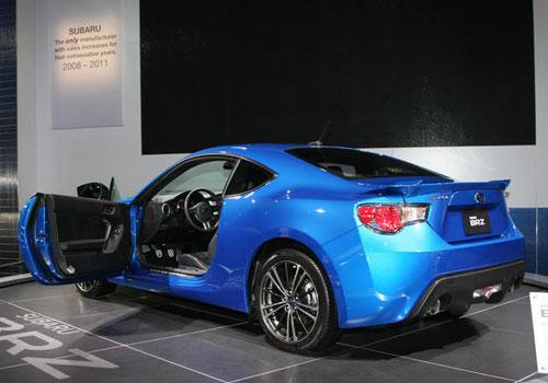 Subaru 2 Door Sports Car