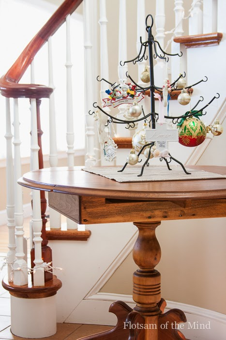 Table with Ornament Tree - Flotsam of the Mind