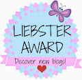 5 Liebster Award!!! ♥♥♥♥♥♥♥♥♥♥♥♥♥