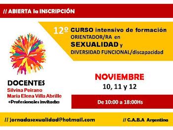 9° Curso Orientador/ra en sexualidad y diversidad funcional