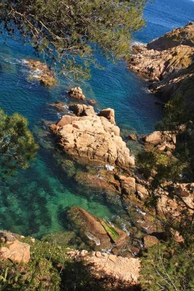 Costa Brava in Sant Feliu de Guixols