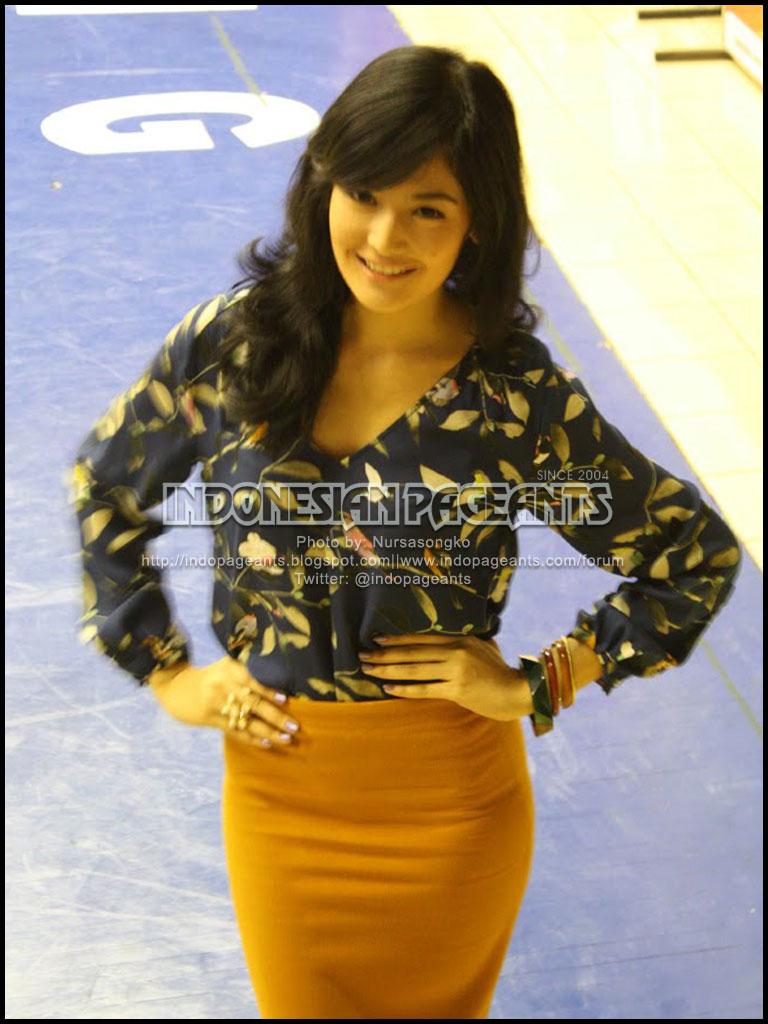 Official thread: MARIA SELENA, Miss Universe Indonesia 2012