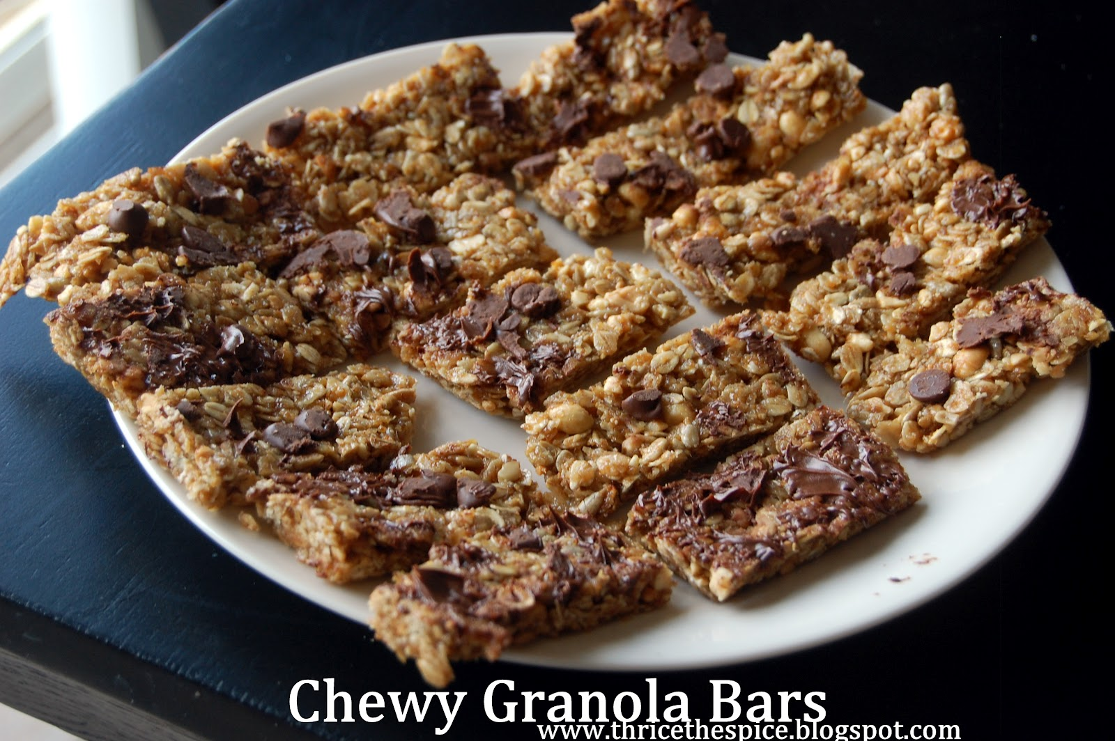 ThriceTheSpice: Chewy Granola Bars