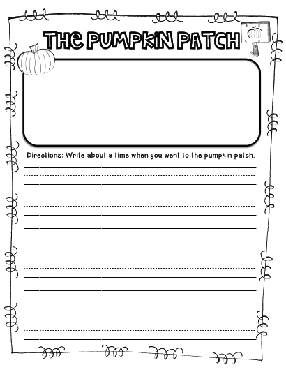 pumpkin writing prompts Pumpkin, fall, halloween activities: no prep 18 writing prompts and story starters pumpkin word i can cards for writing center tips & ideas to keep.