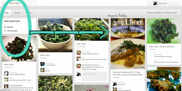 How to Optimise Photos for Pintrest Search Results for Kale Crisps