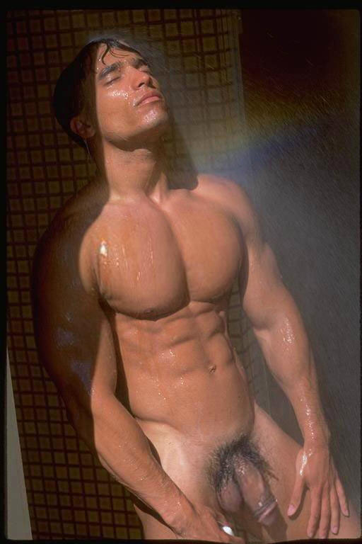 hot guy naked in showers