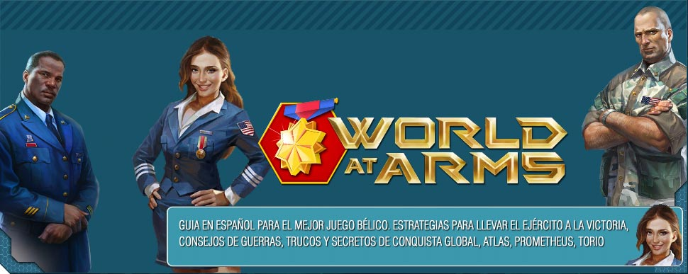 World at Arms - ¡Lucha por tu nación!