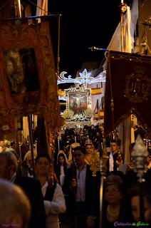 Cristo de Chircales en procesión