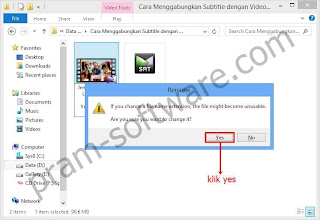 Warning di Windows 8