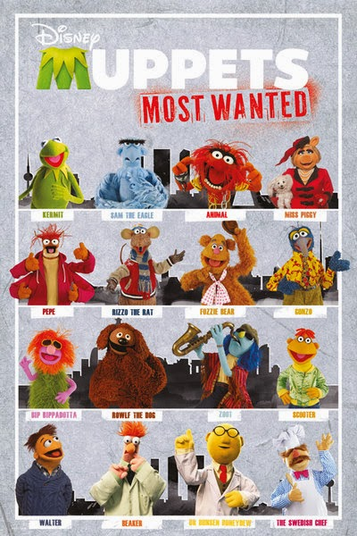 Muppet Stuff: Most Wanted Posters!