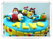 Angry bird cake for ALVO. Posted by Ditta.Dee at 12:52 · Email ThisBlogThis!
