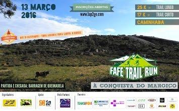 FAFE TRAIL RUN - 13 DE MARÇO 2016 - A PROVA DO ANO
