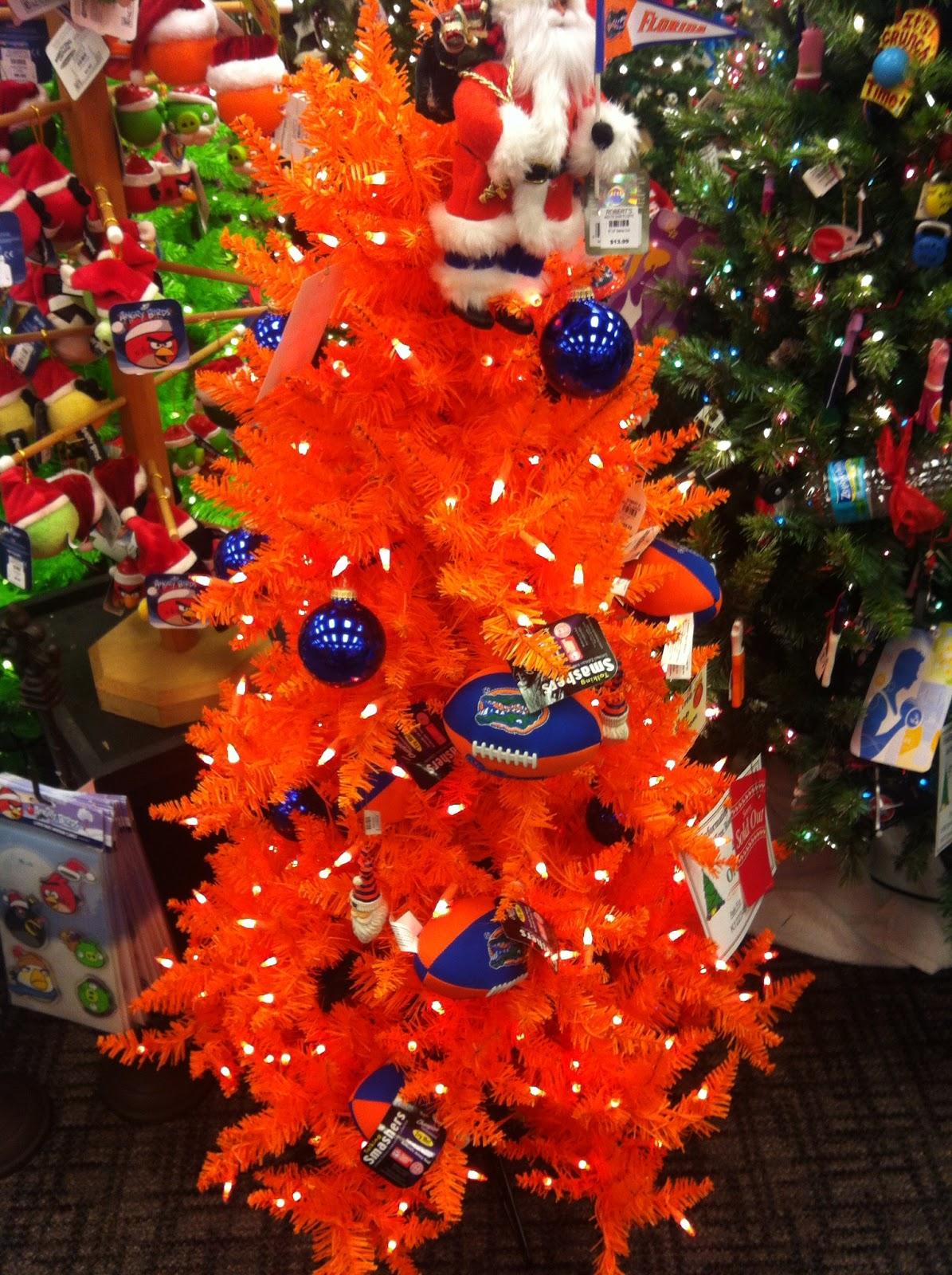 Florida Gators Christmas Tree