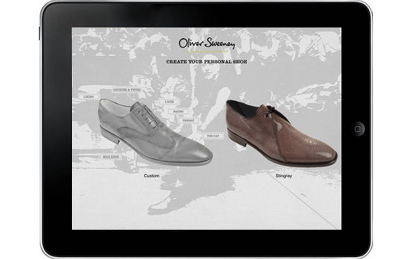 men\'s styling: Oliver Sweeney brings out App for Custom Made Shoes