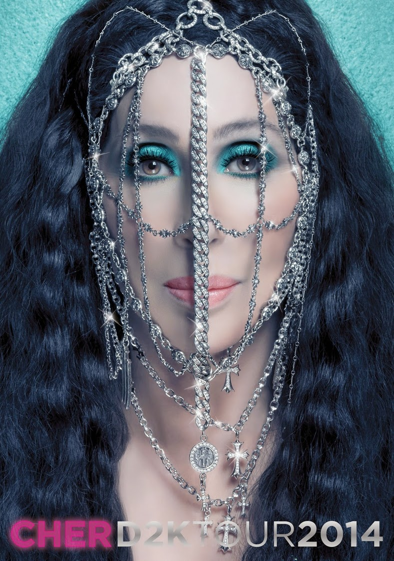Cher's Dressed To Kill Tour Book