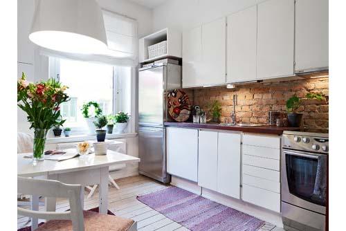 40 mq in stile nordico arredamento facile - Cucine stile scandinavo ...
