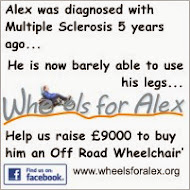 Wheels for Alex Appeal