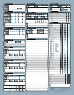 d d 3 5 character sheet: