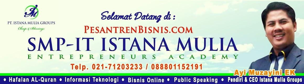 Pesantren Unggulan  (Islamic Boarding School) SMP Informasi Teknologi Istana Mulia