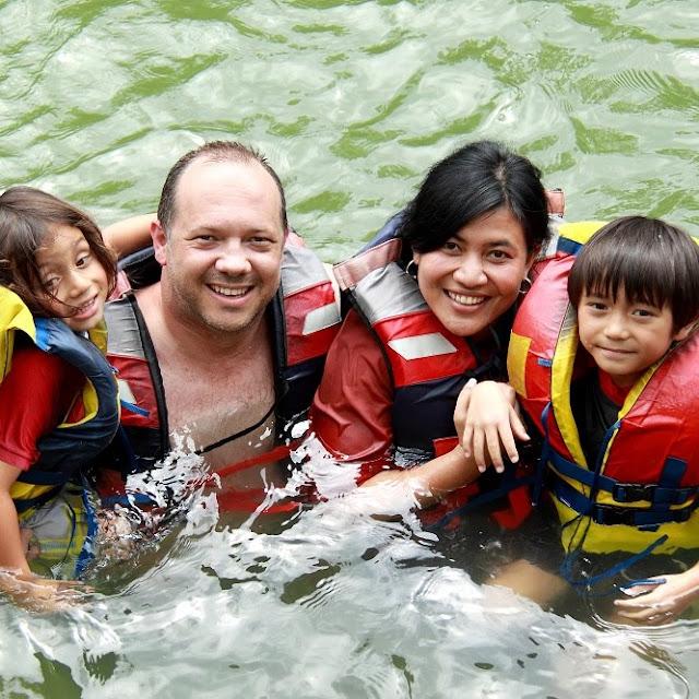 Plan acuático en familia