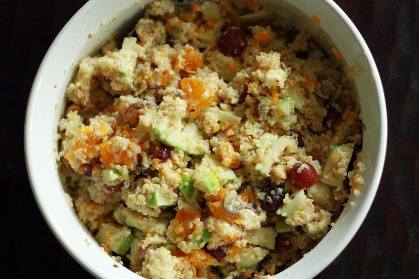 see alli scrap: Quinoa Fruit Salad